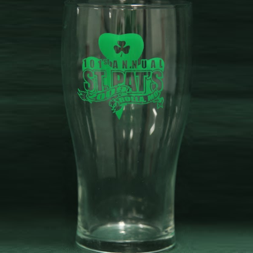 2009 PInt Glass
