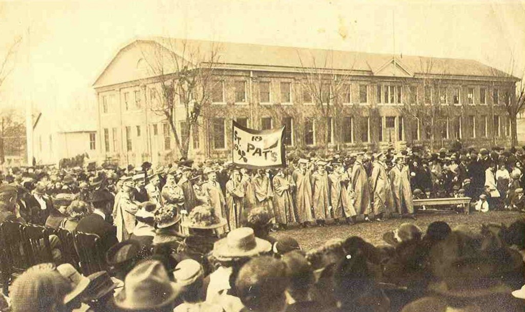 1909 St. Pats Campus Festivities