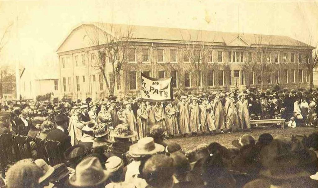 1909 St. Pats Campus Festivities