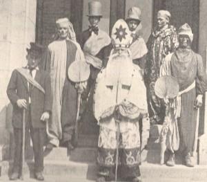 1910 St. Pat & His Court