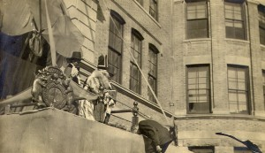 1910 St. Pats Knighting Ceremony