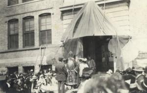 1915 St. Pats Knighting Ceremony