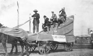 1915  St. Pats Parade Float