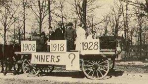 1918 St. Pats Parade Float