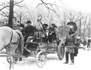 1939 St. Pat and his Court in the Parade