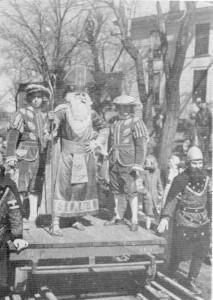 1949 Court Arrival Ceremony