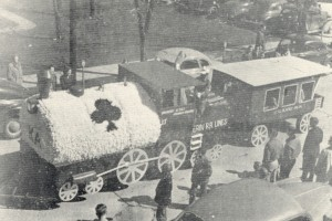 1949 Kappa Alpha Order Parade Float