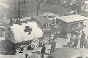 1949 Kappa Alpha Order Parade Float