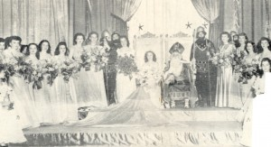 1949 St. Patrick, his court, and the Queens