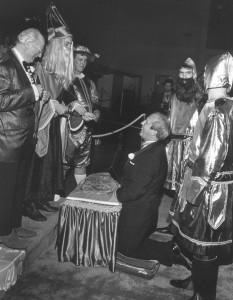 1970 Coronation Ceremony feat. The Blarney Stone