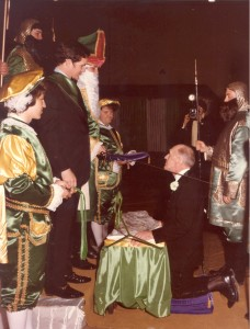 1975 Coronation Ceremony and Blarney Stone