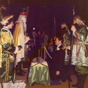 1975 Coronation Ceremony feat. The Governor and the Blarney Stone