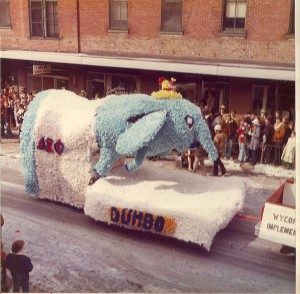 1975 Dumbo Float in St. Pats Parade