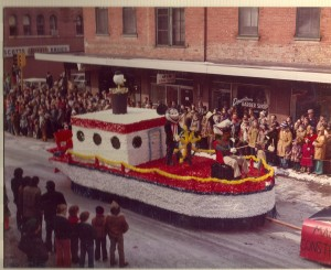 1975 Float in the St. Pats Parade