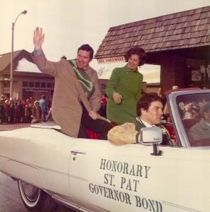 1975 Governor Bond as Honorary St. Patrick
