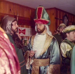 1975 St. Patrick Conversing with his Masterguard