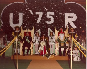 1975 St. Patrick and his Court
