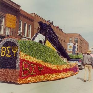 1977 Beta Sigma Psi Parade Float