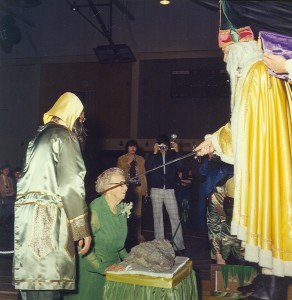 1977 Coronation and Knighting