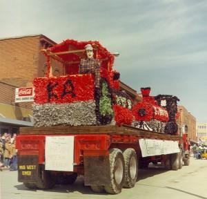 1977 Kappa Alpha Parade Float