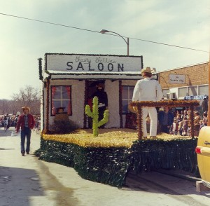1977 Saloon Parade Float