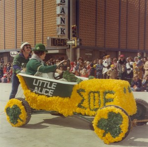 1977 Sigma Phi Epsilon LITTLE ALICE Parade Float
