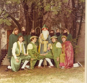 1977  St. Patrick and his Court