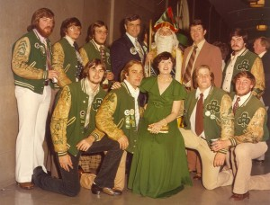 1977 St. Patrick and his Court Informal Photo