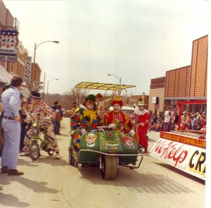 1977 Tri-Wheeled Parade Float