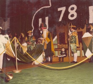 1978 St. Pat Crowning the Queen of Love and Beauty
