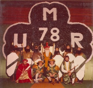 1978 St. Patrick and his Court