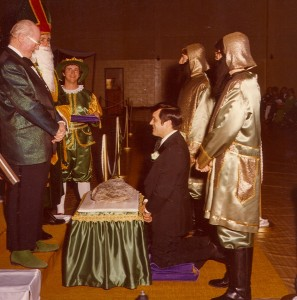 1979 Coronation Ceremony with Blarney Stone