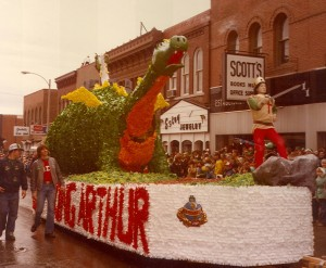 1979 King Arthur Parade Float
