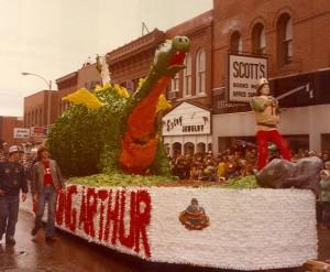 1979 King Arthur Parade Float