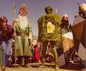 1979 St. Pat and his Masterguards at Follies