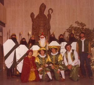 1979 St. Patrick and his Court