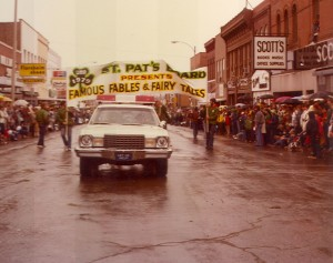 1979 St. Pats Board Presents Parade Theme FAMOUS FABLES AND FAIRY TALES