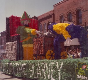 1980 Blarney Parade Float
