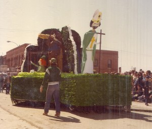 1980 Float in the St. Pats Parade