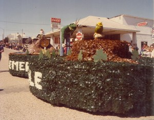 1980 Participating Parade Float