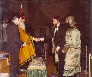1980 St. Pat and Masterguard in Coronation Ceremony