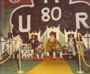 1980 St. Pat and his Court at Coronation