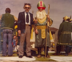 1980 St. Pat with Man in Suit