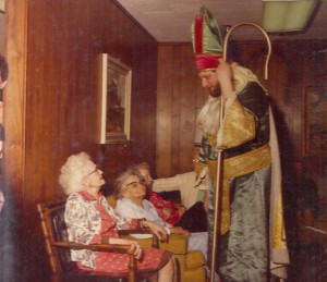 1980 St. Patrick Greeting the Elderly