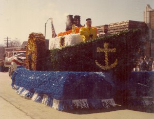 1980 St. Pats Parade Ship Float
