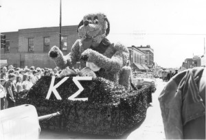1980s Kappa Sigma Parade Float