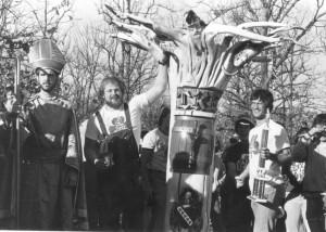 1980s St. Pat and Tau Kappa Epsilon Cudgel