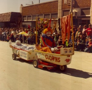 1981 Clowns Parade Float