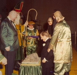 1981 Coronation and Knighting Ceremony