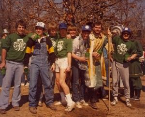 1981 Group Photo of St. Pats Celebration Participants